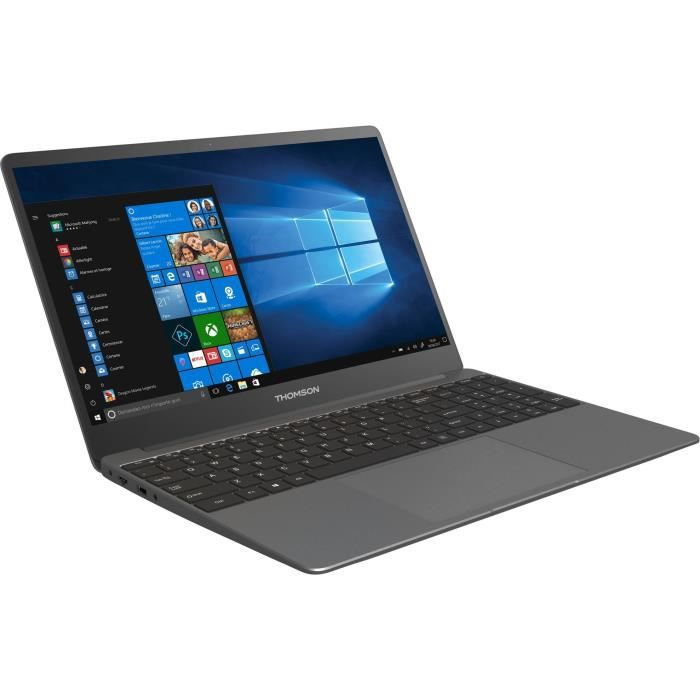 PC Portable - THOMSON NEOX15 - 15,6- FHD - Intel Core i5 - RAM 8Go - Stockage 512Go - Windows 10 - AZERTY