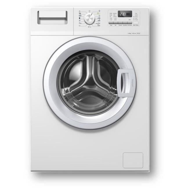 OCEANIC OCEALL812W8 - Lave linge frontal - 8 kg - 1200 tours / min - A+++