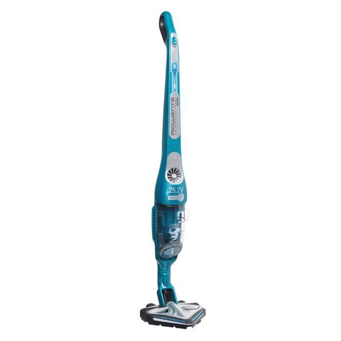 ROWENTA RH8872 Aspirateur balai Air Force Extreme Vision Pro - 25.2V - 500 ml - Bleu