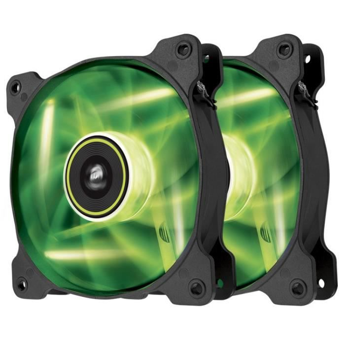 Corsair ventilateur 120mm SP120 LED verte Double