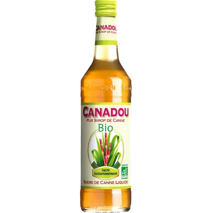 Sucre de Canne Liquide Canadou Bio 70cl