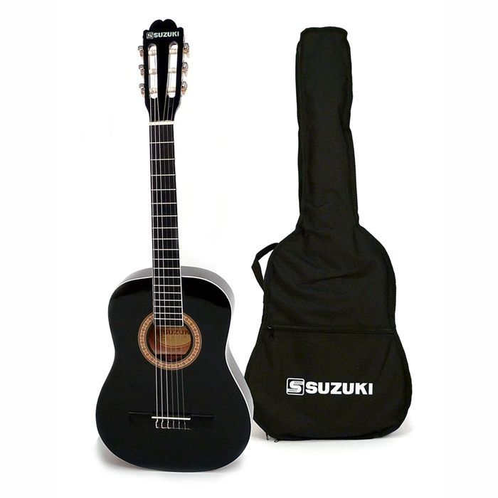 guitare classique 1 2 suzuki scg2 1 2bk achat. Black Bedroom Furniture Sets. Home Design Ideas