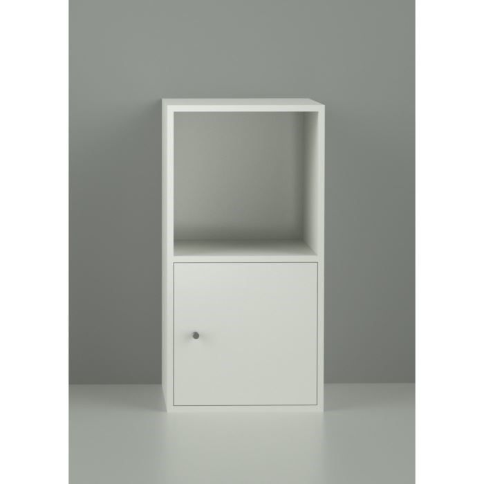 optima cube 2 cases 31 cm blanc achat vente meuble. Black Bedroom Furniture Sets. Home Design Ideas