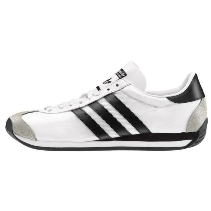 Et Homme Blanc Originals Adidas Chaussures Noir Country Baskets Og Xqwv0Y