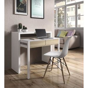 bureau gain de place achat vente bureau gain de place pas cher cdiscount. Black Bedroom Furniture Sets. Home Design Ideas