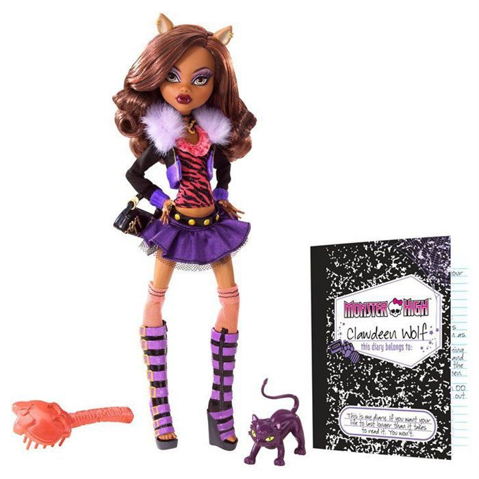 POUPÉE Poupée Monster High Clawdeen Wolf