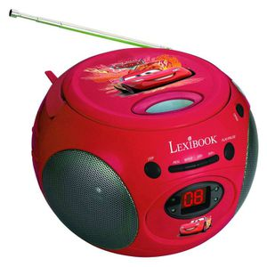 RADIO CD ENFANT CARS Radio Lecteur CD Enfant Lexibook