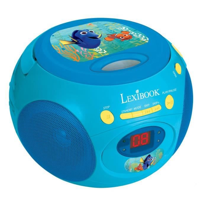 dory radio lecteur cd lexibook achat vente radio cd. Black Bedroom Furniture Sets. Home Design Ideas