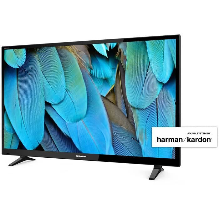 sharp sh18lc40cfe4042eh tv led 100 cm 40 sound system by harman kardon t l viseur led. Black Bedroom Furniture Sets. Home Design Ideas