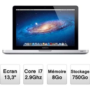 "Achat PC Portable Apple MacBook Pro 13"" (MD102F/A) pas cher"