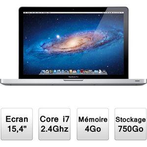 ORDINATEUR PORTABLE Apple MacBook Pro (MD322F/A)
