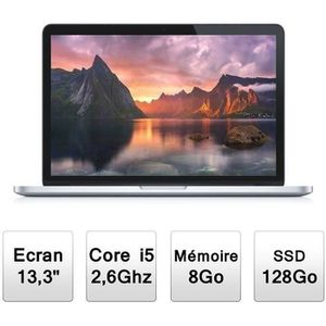 ORDINATEUR PORTABLE Apple MacBook Pro Rétina 13