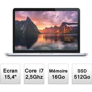 ORDINATEUR PORTABLE Apple MacBook Pro Rétina 15
