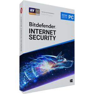 ANTIVIRUS Bitdefender Internet Internet Security 2019 - 1 an