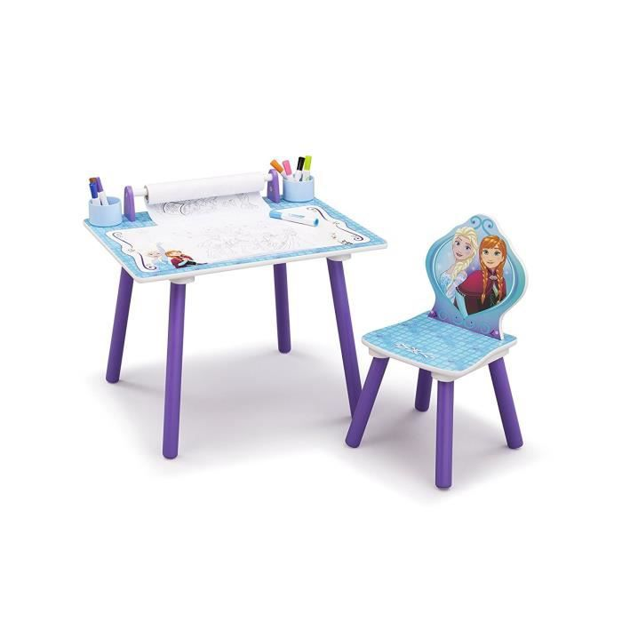 la reine des neiges table d 39 activit enfant rouleau de. Black Bedroom Furniture Sets. Home Design Ideas