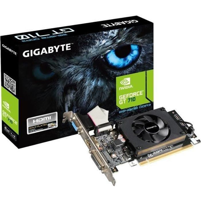 CARTE GRAPHIQUE INTERNE Gigabyte Carte graphique GeForce GT 710 2GL