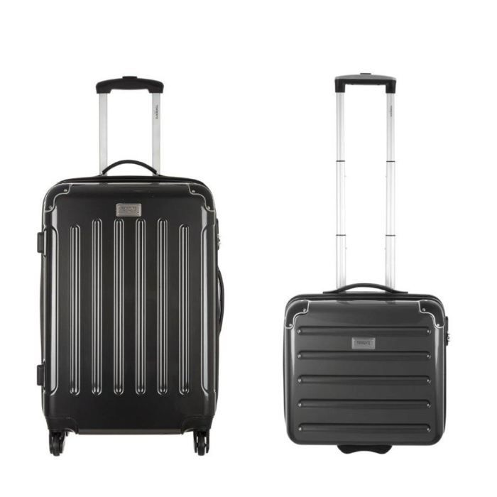 torrente set valise trolley pilote case trolley gris achat vente set de valises torrente. Black Bedroom Furniture Sets. Home Design Ideas