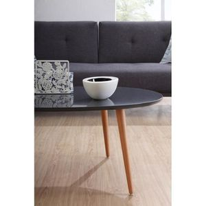 Collections scandinave achat vente collections for Table basse laquee beige