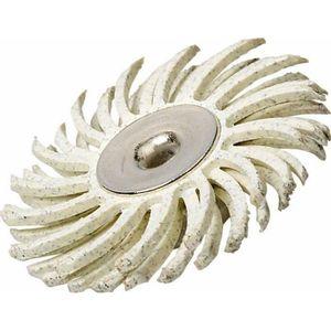BROSSE PINCEAU SUR TIGE Brosse Abrasive de Précision, Diamètre 25mm, Grain