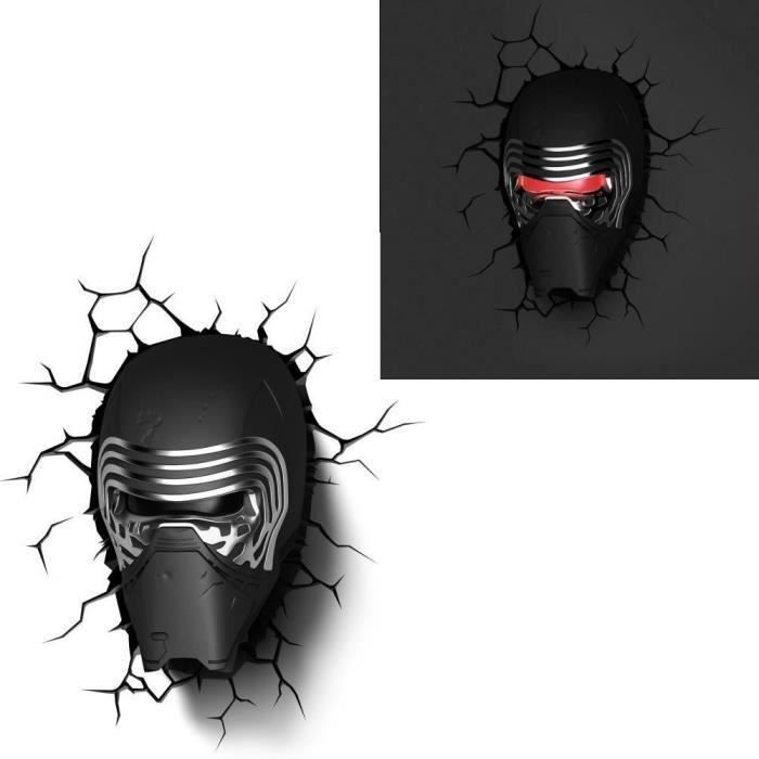 STAR WARS VII Lampe Décorative 3D Kylo Ren