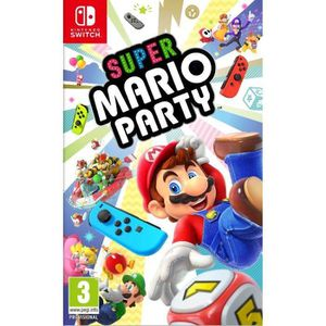 JEU NINTENDO SWITCH Super Mario Party Jeu Switch