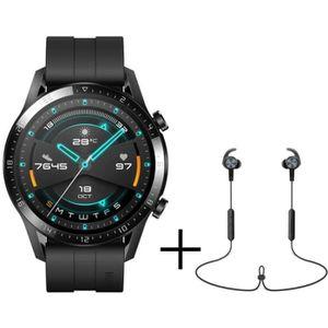 MONTRE CONNECTÉE HUAWEI Watch GT 2 46mm Sport Noir + Écouteurs Blue