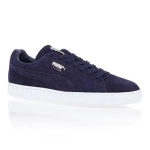 chaussure femme puma bleu