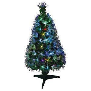 SAPIN - ARBRE DE NOËL Sapin de Noël artificiel Fibre optique New York -