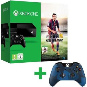 CONSOLE XBOX ONE Pack XBOX One + FIFA 15 + Manette Midnight Forces