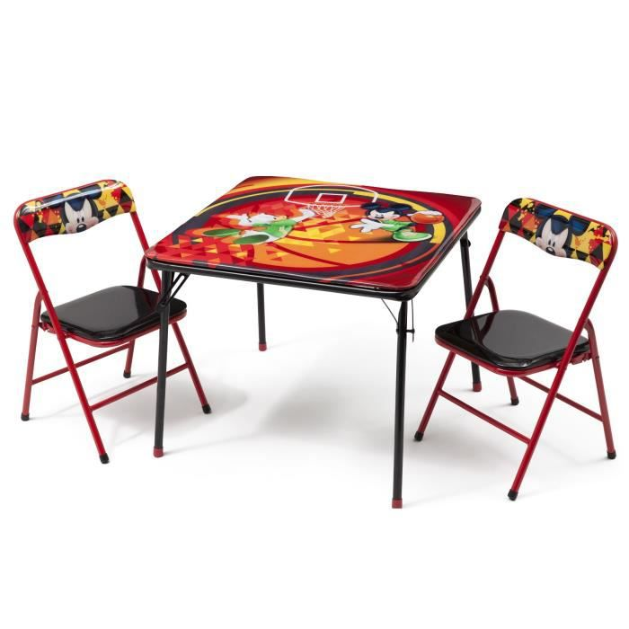 delta children mickey table enfant et 2 chaises pliantes achat vente table jouet d 39 activit. Black Bedroom Furniture Sets. Home Design Ideas
