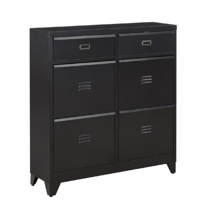 meuble chaussure metal achat vente meuble chaussure. Black Bedroom Furniture Sets. Home Design Ideas