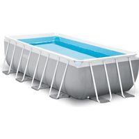 PISCINE INTEX Kit piscine rectangulaire Prism Frame - 488
