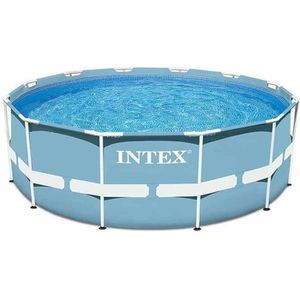 PISCINE INTEX Kit Piscine tubulaire ronde Ø3,66 x H0,76m