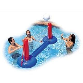 Filet de volley flottant intex achat vente filet - Filet volley piscine ...