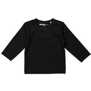 T-SHIRT DIRKJE T-shirt Manches Longues Noir Enfant Mixte