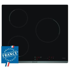 PLAQUE INDUCTION BRANDT BPI6310B - Table de cuisson induction - 3 z