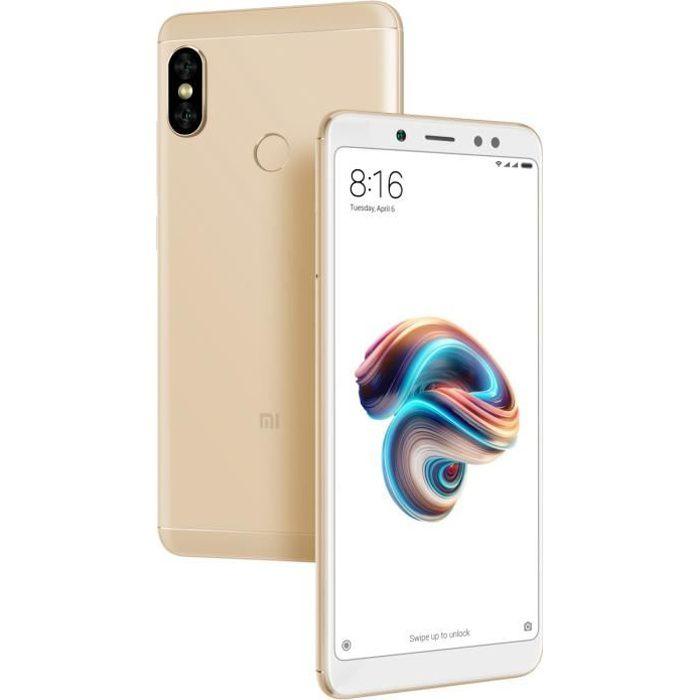 SMARTPHONE XIAOMI Redmi Note 5 Or 32 Go