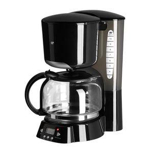 CAFETIÈRE CONTINENTAL EDISON CF12PB Cafetière filtre program