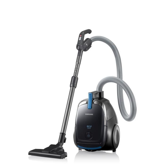 samsung vcdc12qh aspirateur tra neau sans sac 1200w 81 db e noir achat vente. Black Bedroom Furniture Sets. Home Design Ideas