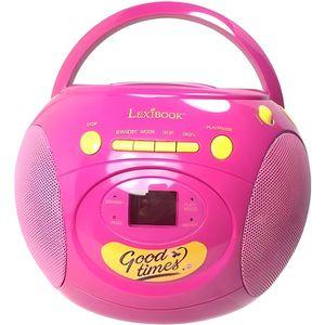RADIO CD ENFANT Lecteur CD enfant fille rose soy Luna