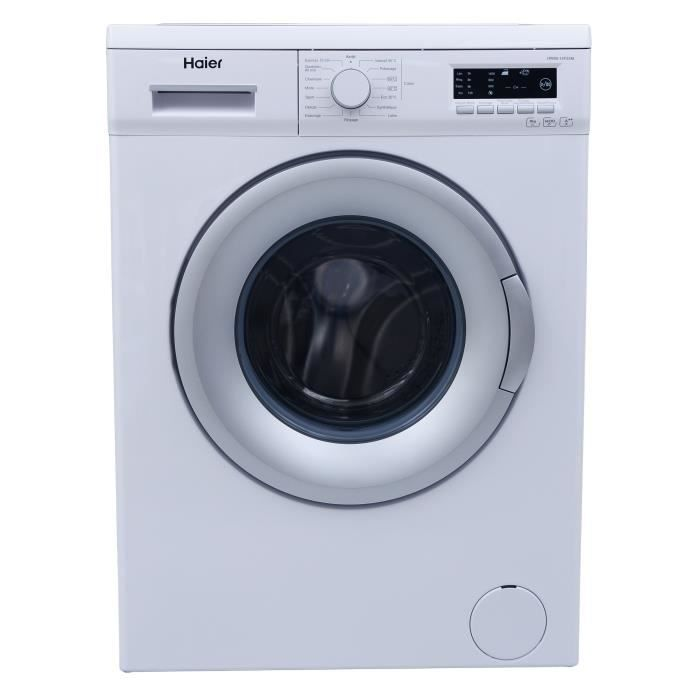 haier w15f2 lave linge frontal 8 kg 1400 tours a. Black Bedroom Furniture Sets. Home Design Ideas