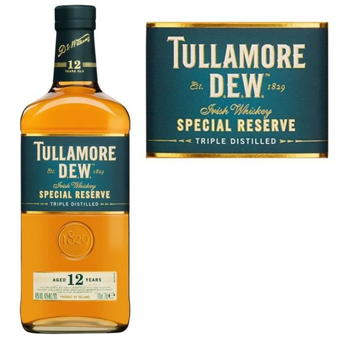 WHISKY BOURBON SCOTCH Tullamore Dew 12 ans Special Reserve