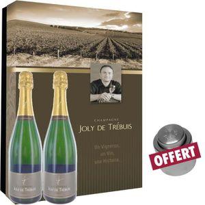 CHAMPAGNE Coffret Champagne Joly de Trébuis + Bouchon Offert
