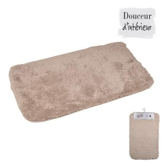 tapis de bain achat vente tapis de bain pas cher cdiscount. Black Bedroom Furniture Sets. Home Design Ideas