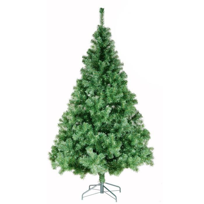 sapin de no l norway 380 branches vert 150 cm achat vente sapin arbre de no l m tal et pvc. Black Bedroom Furniture Sets. Home Design Ideas