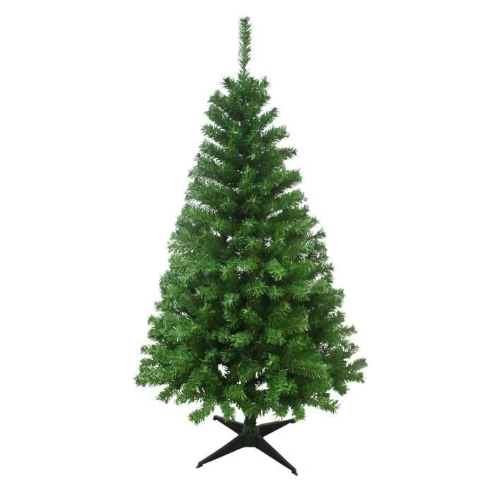 sapin de no l artificiel canada 452 branches hauteur 150 cm vert achat vente pied de sapin. Black Bedroom Furniture Sets. Home Design Ideas