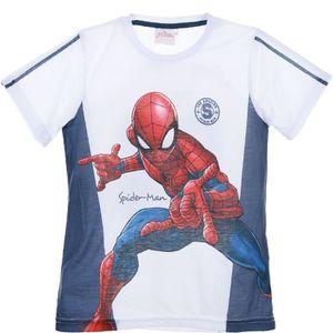 Ensemble de vêtements SPIDERMAN Ensemble short et T-shirt Garçon 100% Po