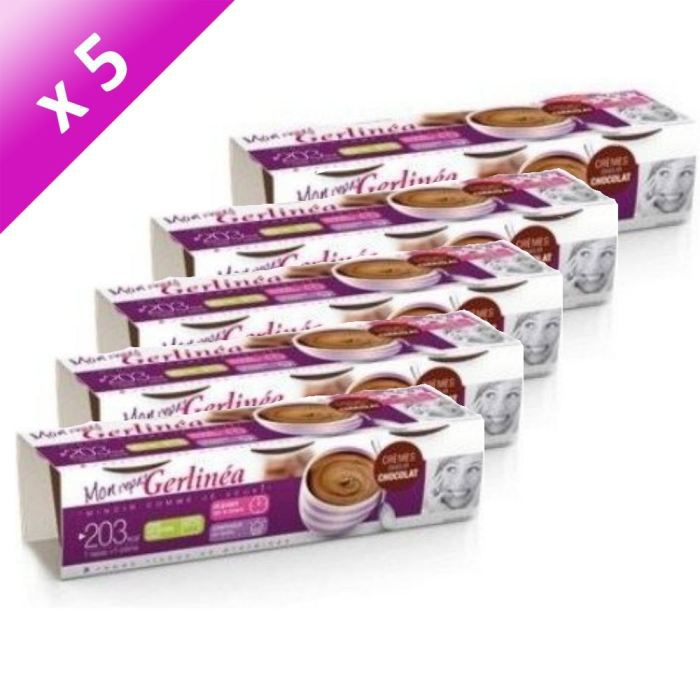GERLINEA Coupelles Repas Chocolat (x5) - Achat / Vente ...