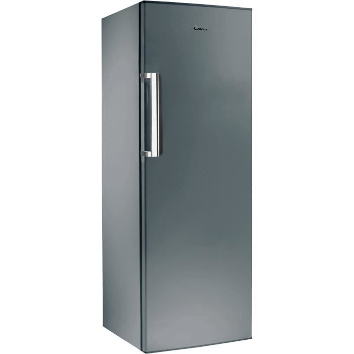 RÉFRIGÉRATEUR CLASSIQUE CANDY CCLN6172XH - Réfrigérateur monoporte - 320 L