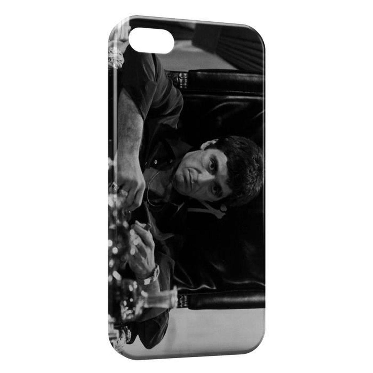 Coque iPhone SE Tony Montana Scarface - Cdiscount Téléphonie